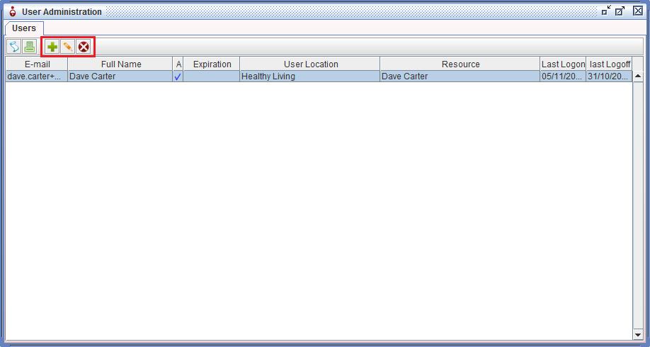 User Accounts – InnoCare Software Help Center